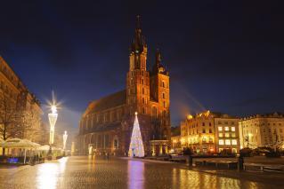 Novo leto v Krakovu