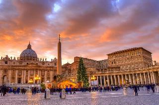 Novoletni Rim z avtobusom