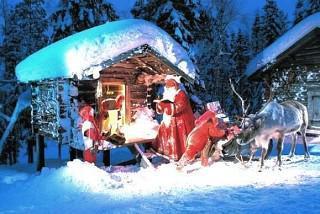 K Božičku v goste