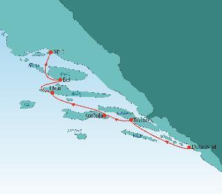 Mini križarjenje po Jadranu: Od Dubrovnika do Splita