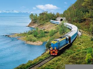 S transibirsko železnico do Bajkalskega jezera