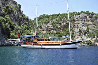 Yachttörn Fethiye - Kekova