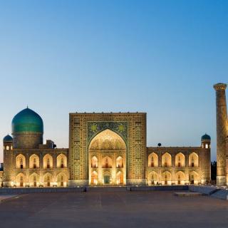 Uzbekistan - po svileni cesti