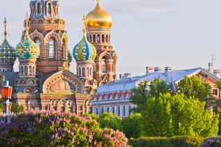 Moskva, St. Peterburg in Talin