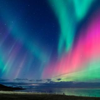 Islandija in polarni sij