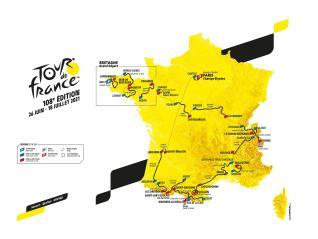 TOUR DE FRANCE 2021, APARTMA 1/4, NAVIJAŠKI KOLESARSKI AVTOBUS V FRANCOSKE ALPE