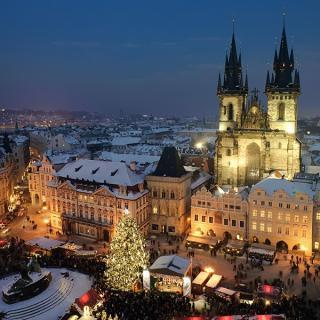 Novoletna Praga in Brno