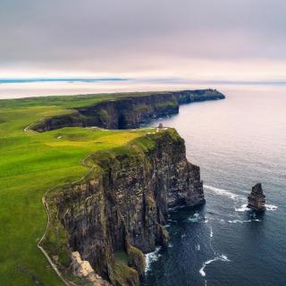 Irska - vsemogočna in zelena,poseben let