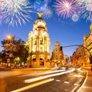 Predpraznični Madrid