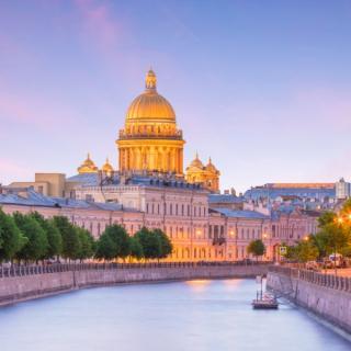 St. Peterburg, Helsinki in Talin