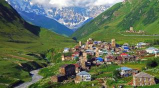 Doživeti Gruzija in Armenija in Svaneti