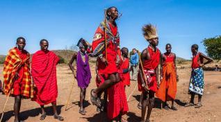 Med Bušmani in Masaji ter skok na Zanzibar