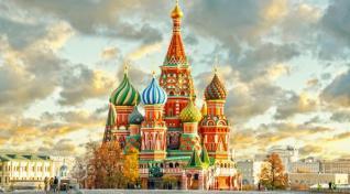 Rusija - Moskva in St. Peterburg