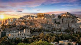 Novoletna Grčija z letalom