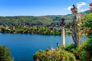 Jezero Maggiore in Boromejski otoki